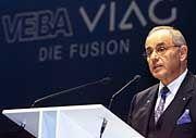 Fusion wird bis Mai genehmigt: VIAG-Chef Wilhelm Simson
