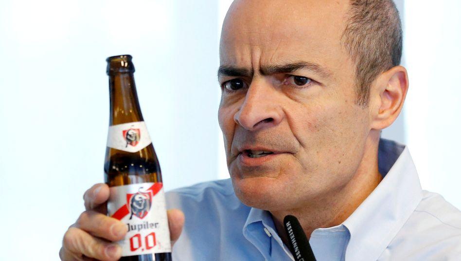 Flasche leer: Für ABInbev-Chef Carlos Brito wird nach 16 Jahren ein Nachfolger gesucht