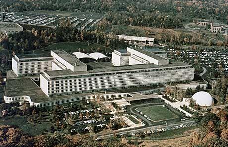 CIA-Zentrale in Langley, Virginia