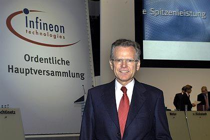 """Infineon-Chef Wolfgang Ziebart: """"Wir sind dabei, Verlustquellen im Unternehmen zu stopfen"""""""