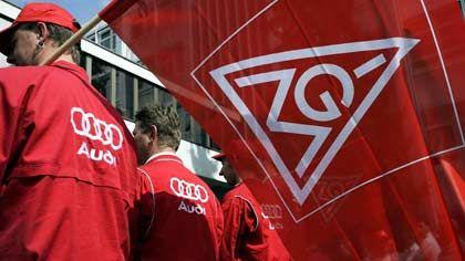 Höhere Löhne gefordert: Gestern demonstrierten Arbeiter des Ingolstädter Audi-Werkes