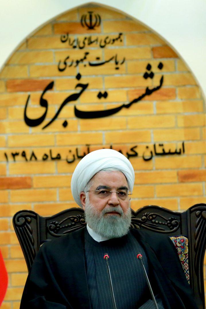 Irans Präsident Hassan Rohani (Bild Archiv)