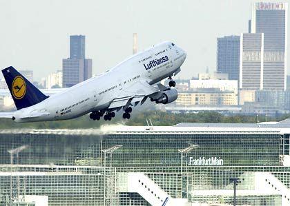 Unter Druck: Lufthansa-Aktien