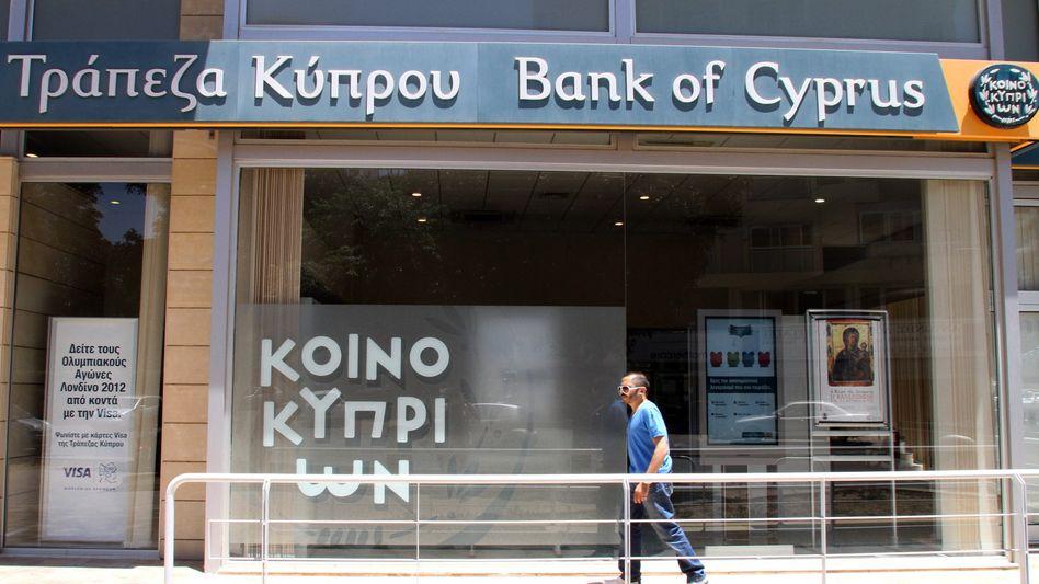 Zentralbank von Zypern: Auf 100.000 Einwohner kamen im vergangenen Jahr 104 Banken