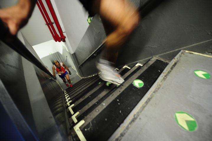 Danke, ich nehme lieber die Treppe: Aufzüge sind für die meisten Menschen gesundheitsschädlich, weil sie Bewegung verhindern