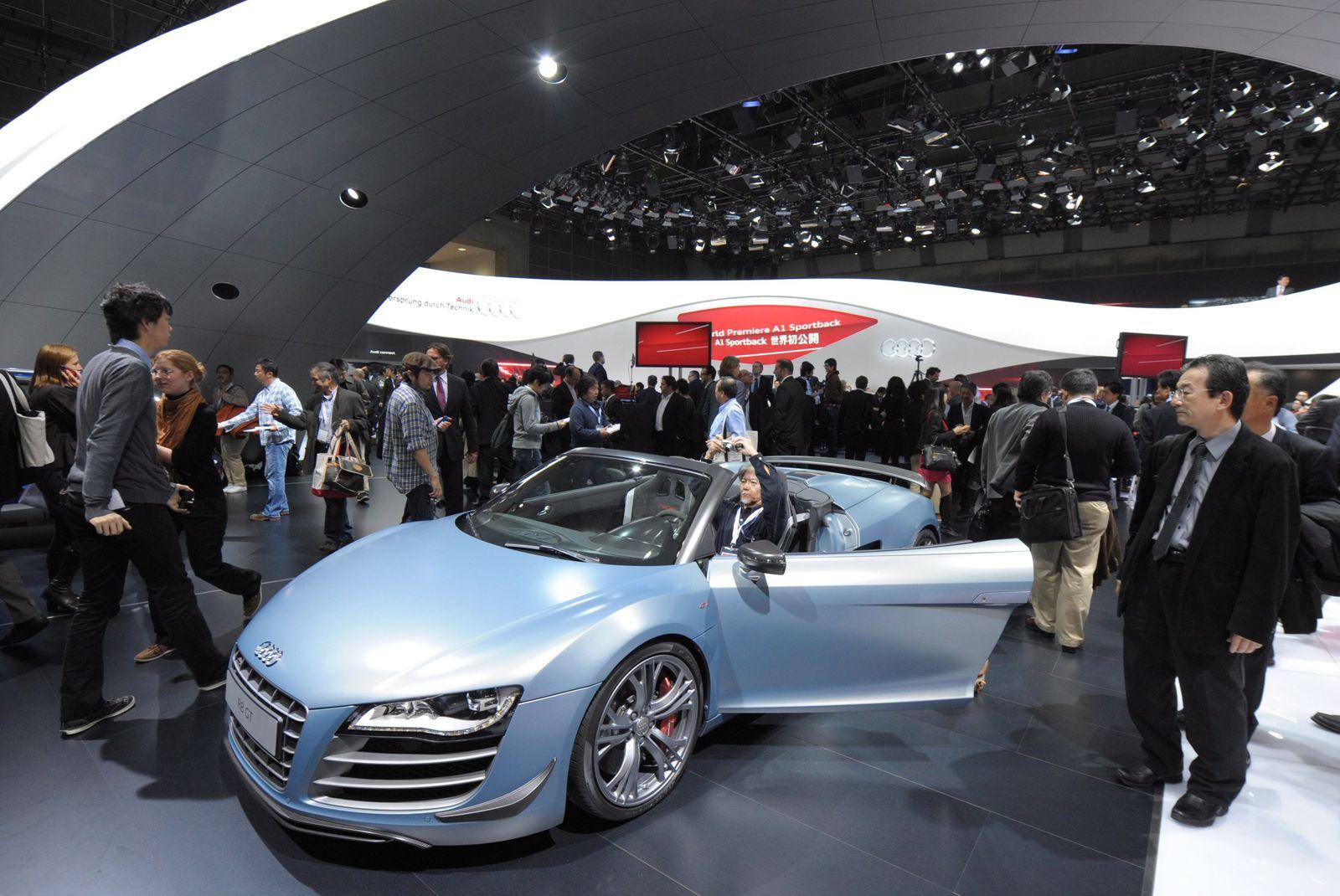 Tokio Motor Show / Audi R8 GT