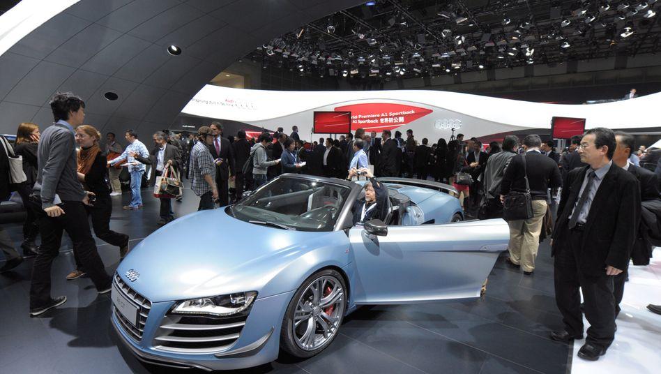 Tokio Motor Show: Premiumautos von Audi, BMW und Daimler sind trotz Schuldenkrise weltweit gefragt. Die Hersteller werden 2011 einen neuen Absatzredkord erzielen