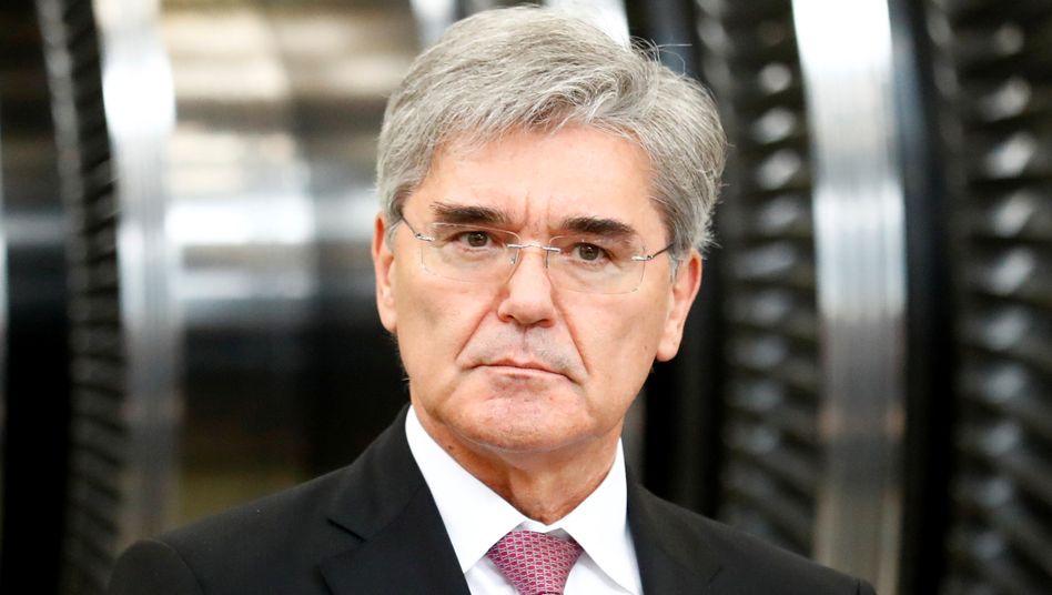 Siemens-Chef Joe Kaeser ist mit dem jetzt von S&P vergebenen Rating für Siemens Energy zufrieden.