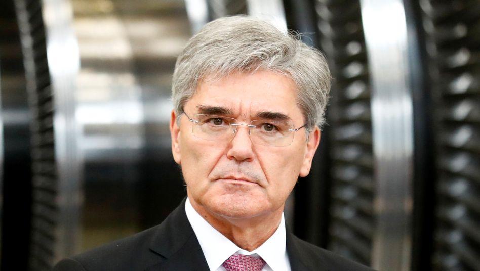 Joe Kaeser: Der Manager will kritische Investoren bei Siemens Energy ein wenig besänftigen