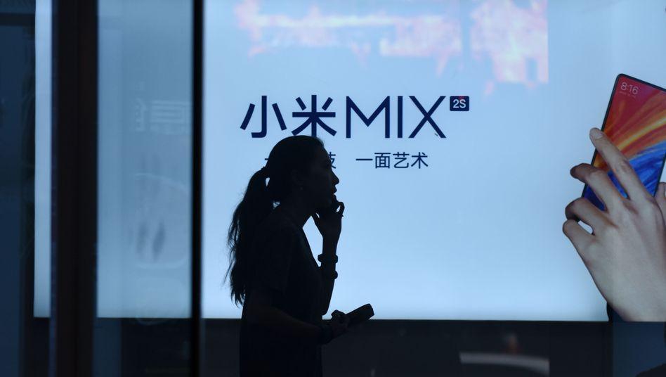 Schwieriges Umfeld für Börsengang: Am Montag startete Xiaomi an der Börse