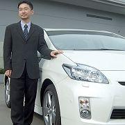 Premiere: Erst in diesem Jahr stellte Chefentwickler Akihiko Otsuka die neue Generation des Prius vor
