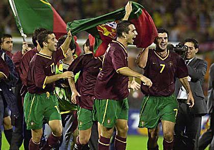 Endlich wieder da: Portugals Nationalmannschaft will wieder Grund zum Feiern haben