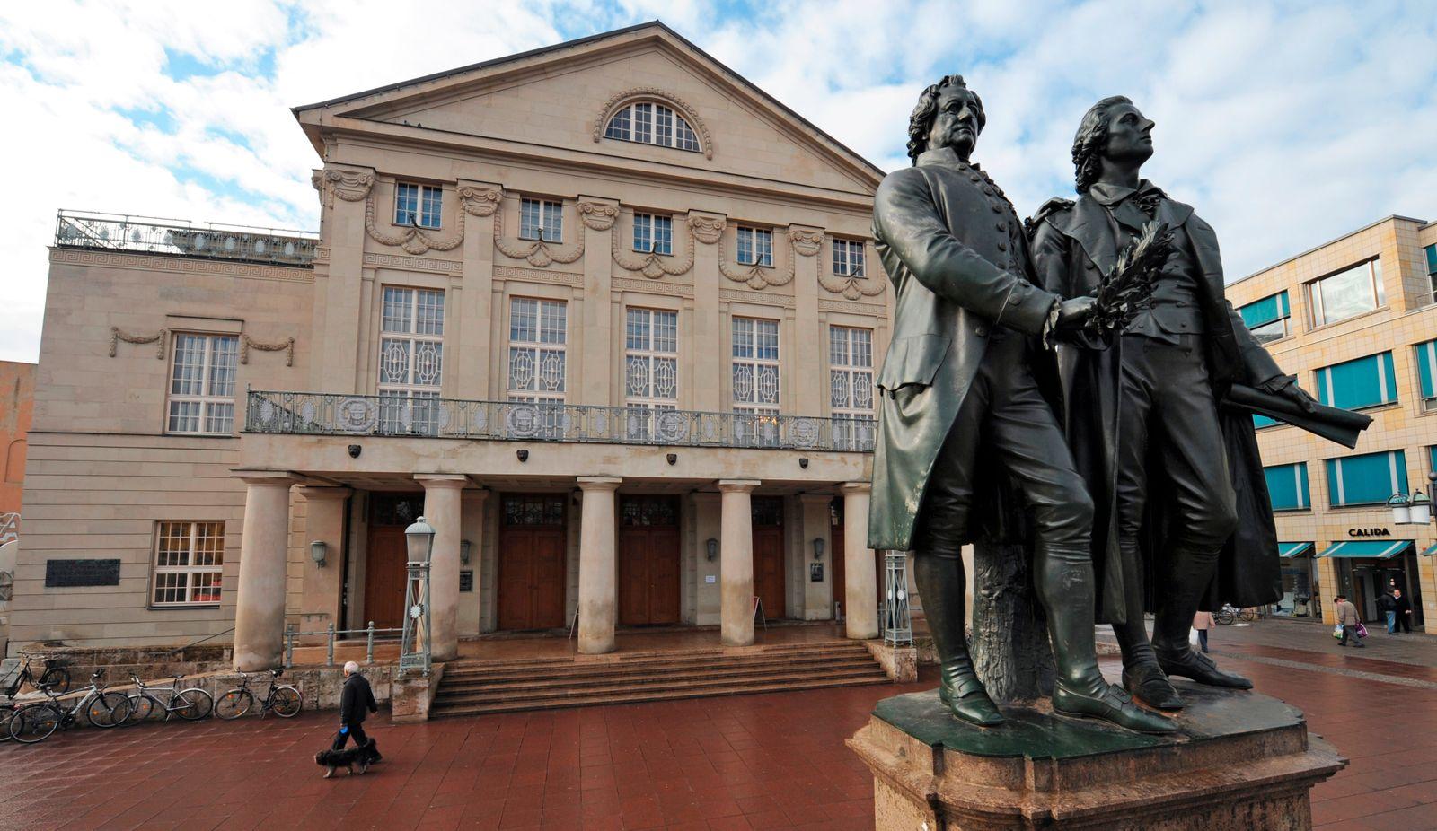 Weimar / Deutsches Nationaltheater