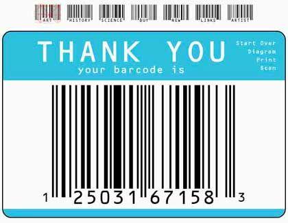 Herkömmliche Barcodes: Das Scannerprinzip bringt die Welt ins Internet