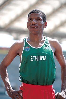 Haile Gebrselassie: Olympiasieger über die 10.000 Meter