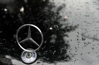 Matter Glanz: Die Verkaufszahlen von Daimler bieten nur wenig Anlass zu Optimismus