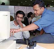 Durchschnittsalter 26: Software-Entwickler bei Infosys