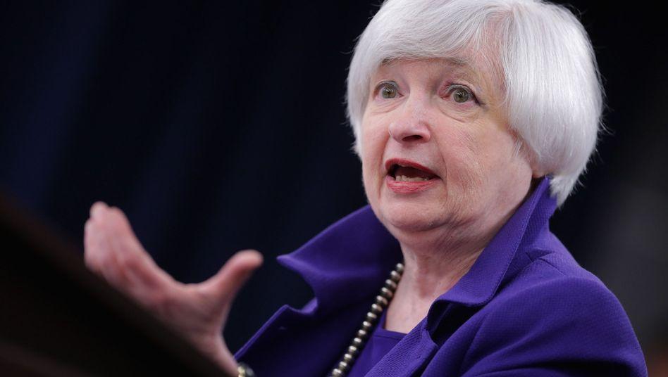 """Janet Yellen:: """"Unsicherheiten haben zugenommen"""""""