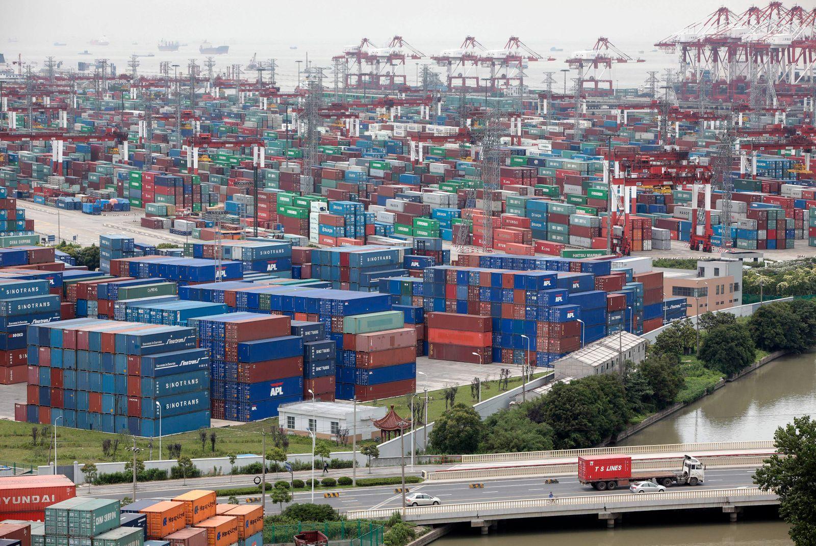 Hafen Shanghai