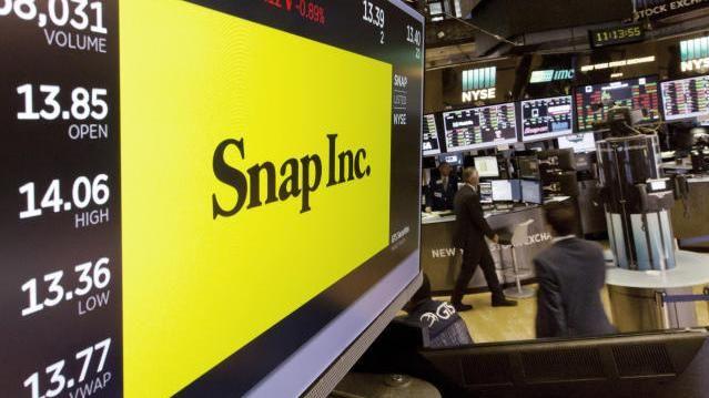 Snap Logo Börse New York