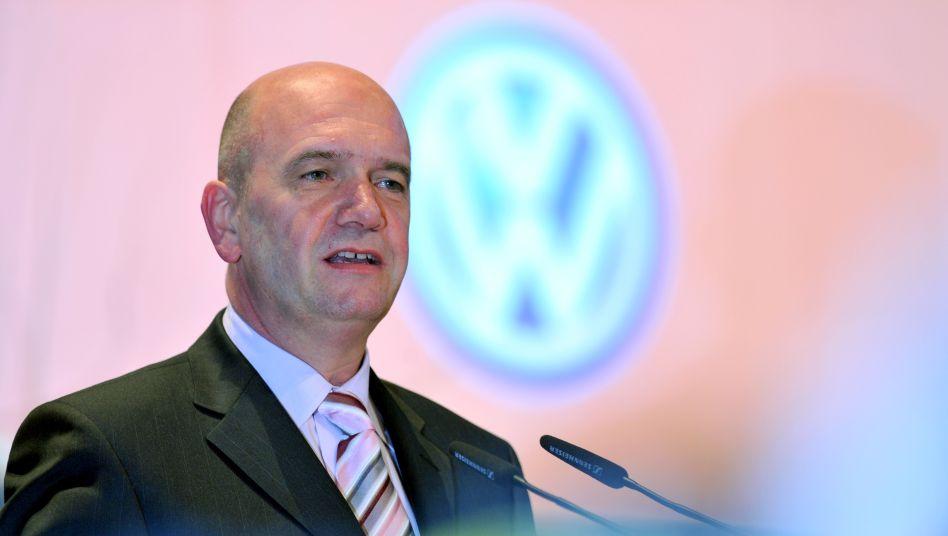 VW-Betriebsratschef Bernd Osterloh in Wolfsburg