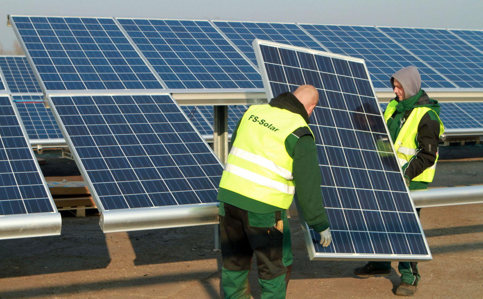 Solar panels Staaken