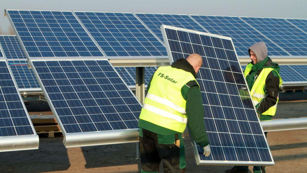 Solarbranche: Bibbern vor Subventionsende