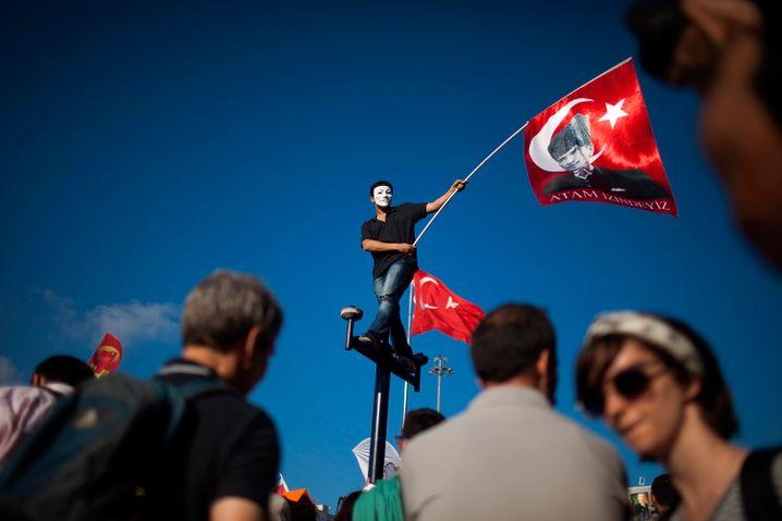 Protest gegen die Regierung: Die Arbeitslosigkeit macht Erdogan zu schaffen