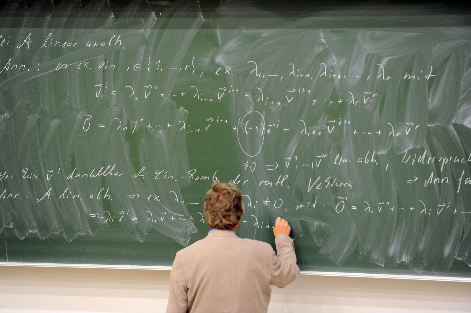Mathematik-Vorlesung