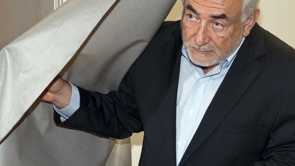 Dominique Strauss-Kahn Anfang Oktober: Tat verjährt