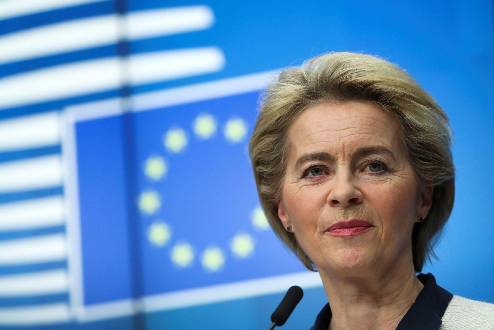 EU-SUMMIT/ Ursula von der Leyen