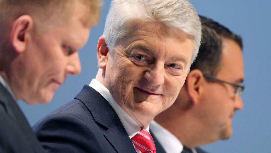 Klare Ziele für alle fünf Konzernsparten: Thyssen-Krupp-Chef Hiesinger will in einer zweiten Amtszeit das Ergebnis des Konzerns auf drei Milliarden Euro heben
