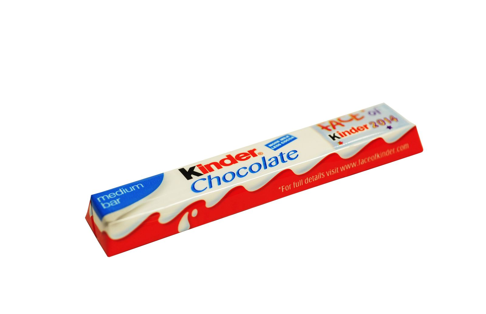 EINMALIGE VERWENDUNG Kinder Chocolate