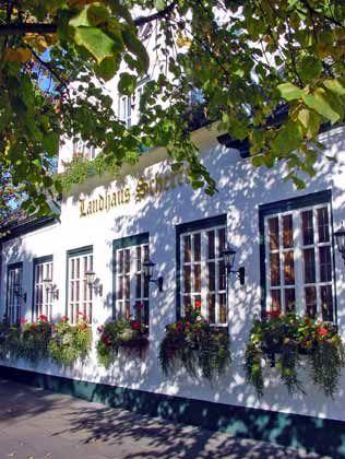 Spitzenrestaurant: Landhaus Scherrer an der Elbchaussee in Hamburg