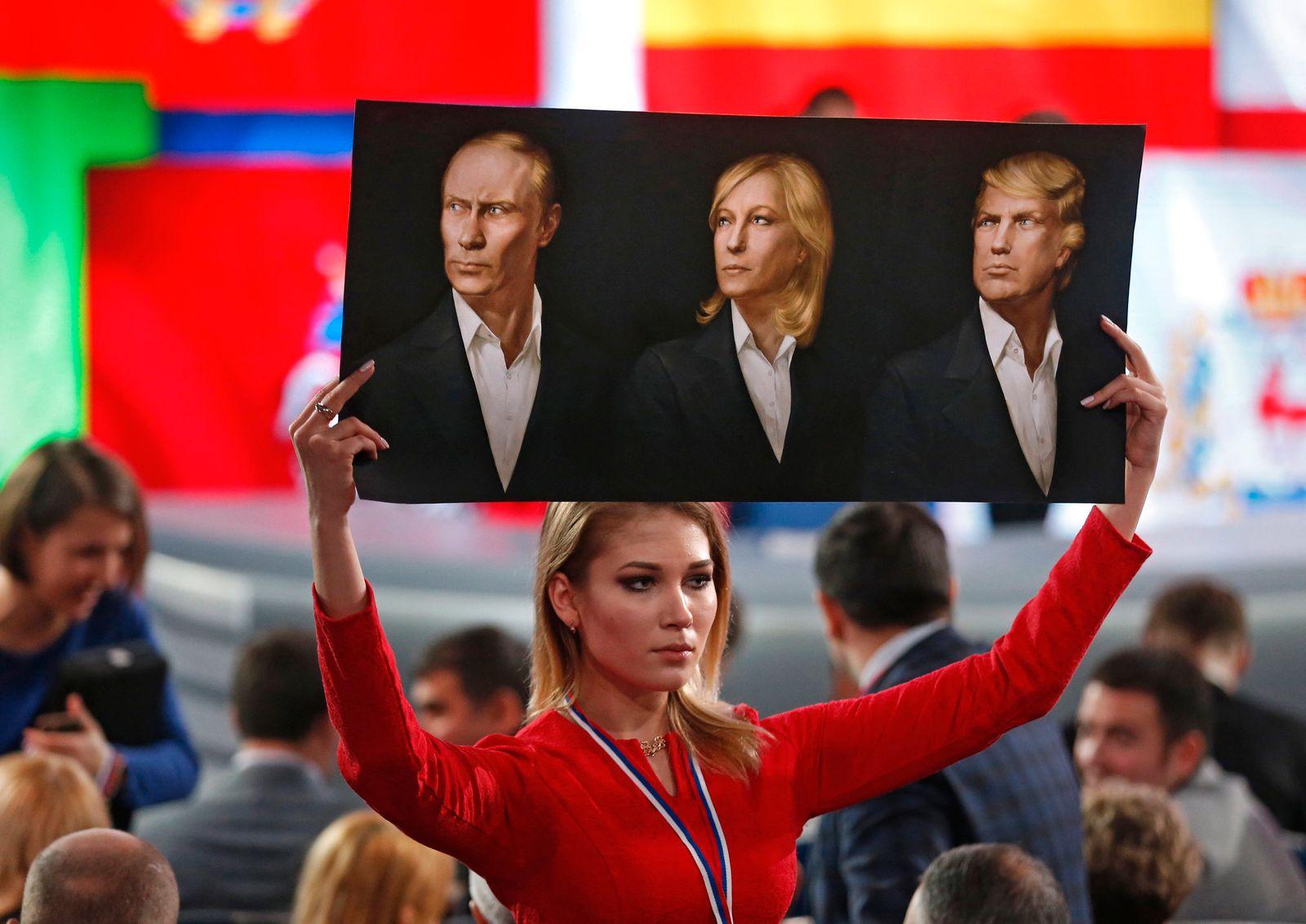 Putin / Le Pen / Trump