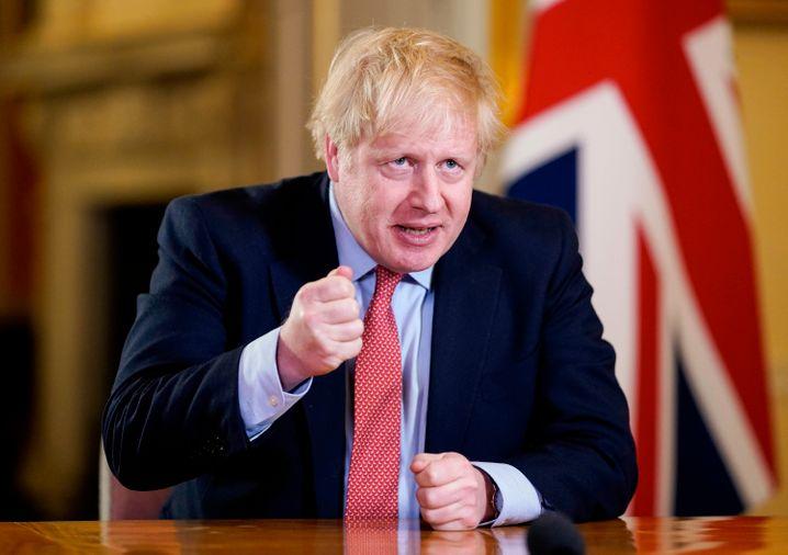 Der britische Premierminister Boris Johnson ist positiv auf das Coronavirus getestet worden