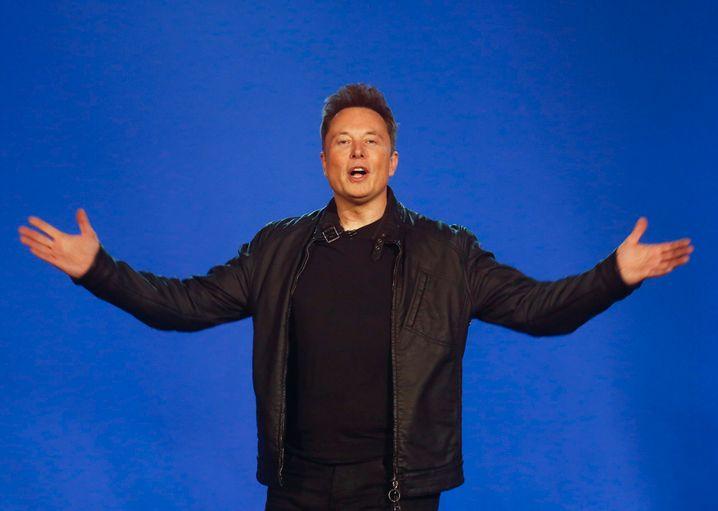"""Tesla-Chef Musk (Archivbild): """"Forbes"""" schätzt sein Vermögen auf 151 Milliarden Dollar"""