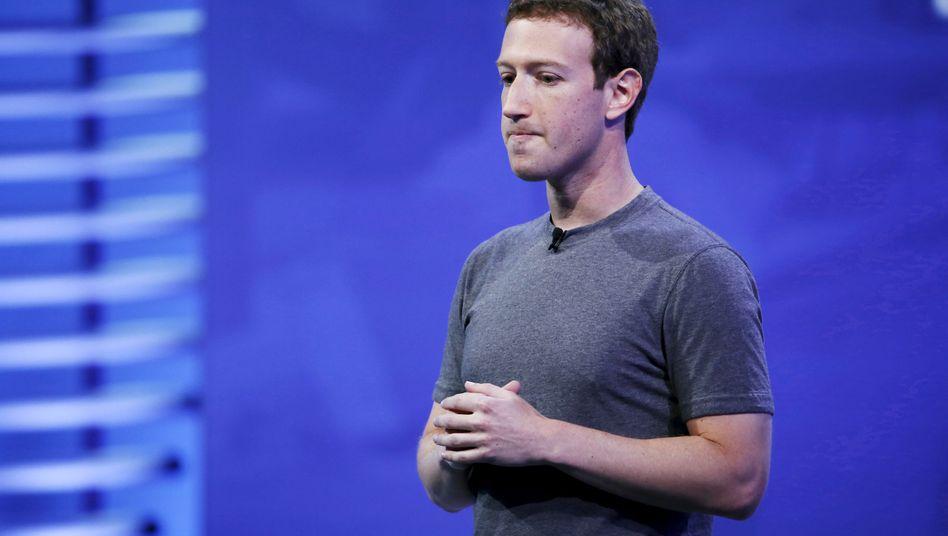 """""""I'm really sorry"""": Facebook-Chef Mark Zuckerberg"""
