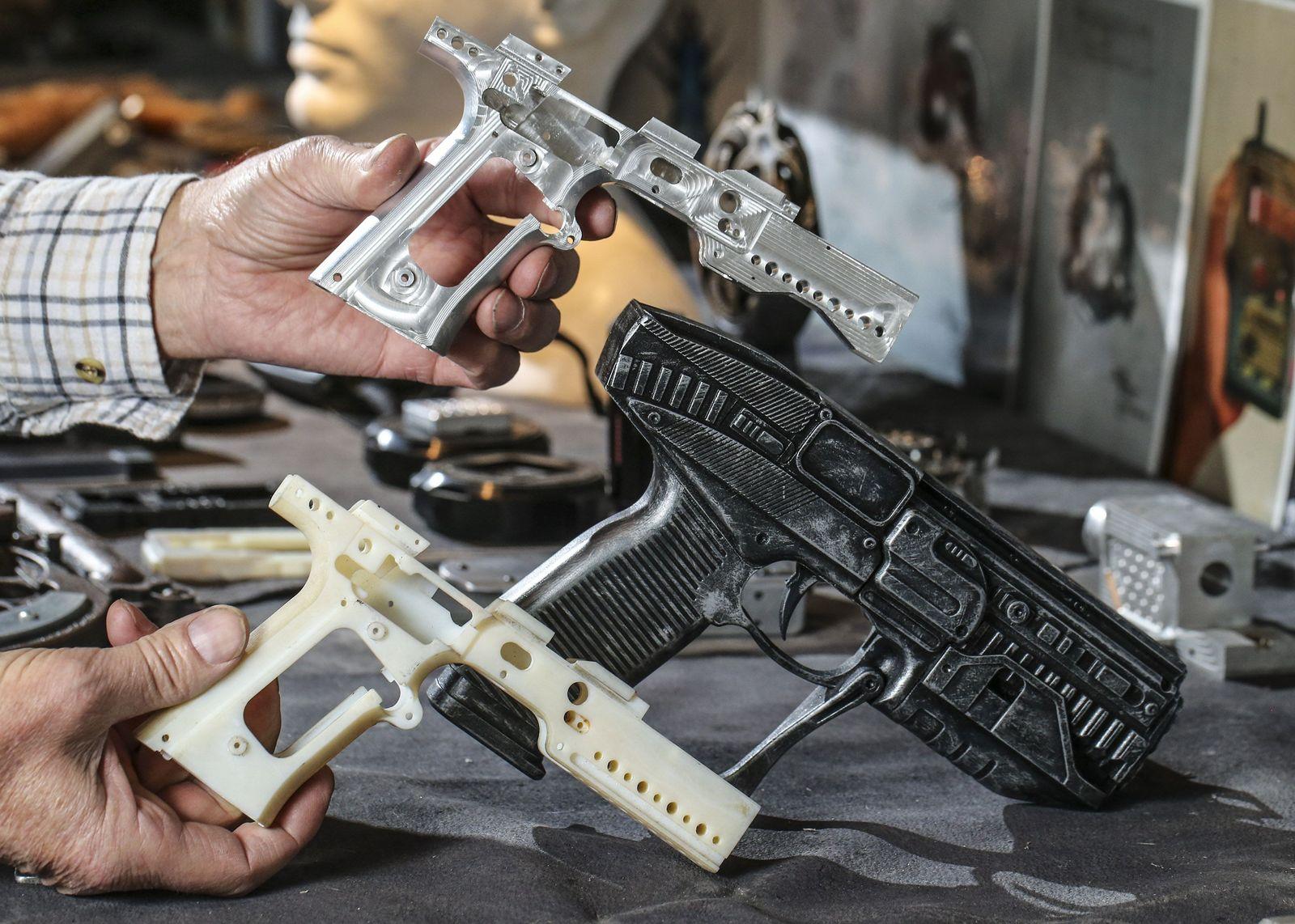 Pistole aus dem 3D-Drucker