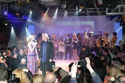 Willkommen auf der Showbühne: Bühlbecker liebt den großen Auftritt