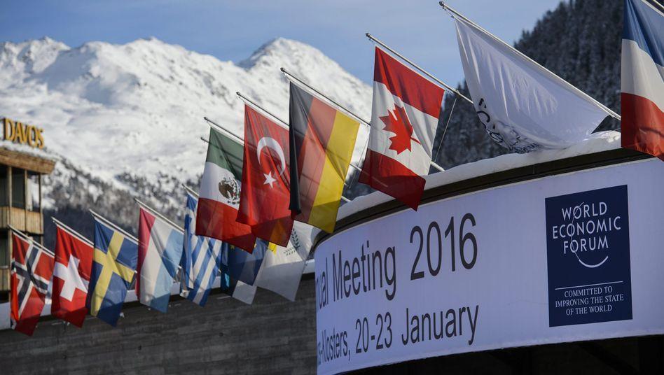 46. Treffen des World Economic Forum (WEF) in Davos: Jeder vierte Manager rechnet mit einer Verschlechterung der Lage in diesem Jahr