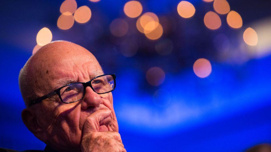 Rupert Murdoch: Der Medienmogul würde Sky gerne in 21st Century Fox einverleiben. Nun aber stört Konkurrent Comcast mit einer Gegen-Offerte für Sky