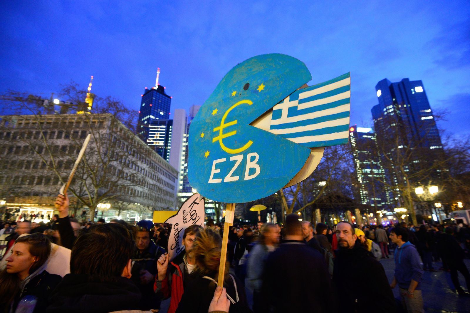 Blockupy/ Frankfurt