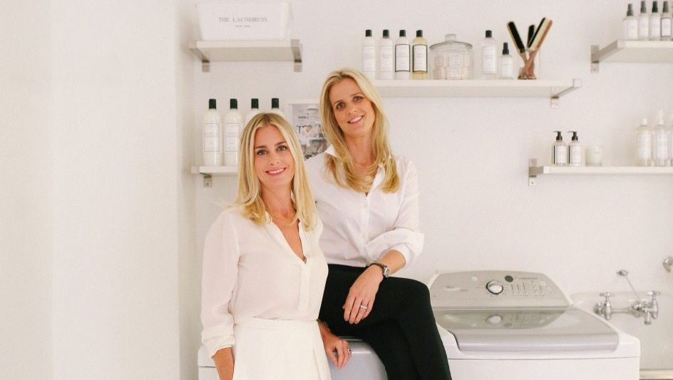 VIEL WEISSGELD Die Unternehmerinnen Gwen Whiting (l.) und Lindsey Boyd