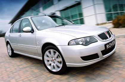 2000 Arbeitsplätze gefährdet: Kompaktwagen Rover 45
