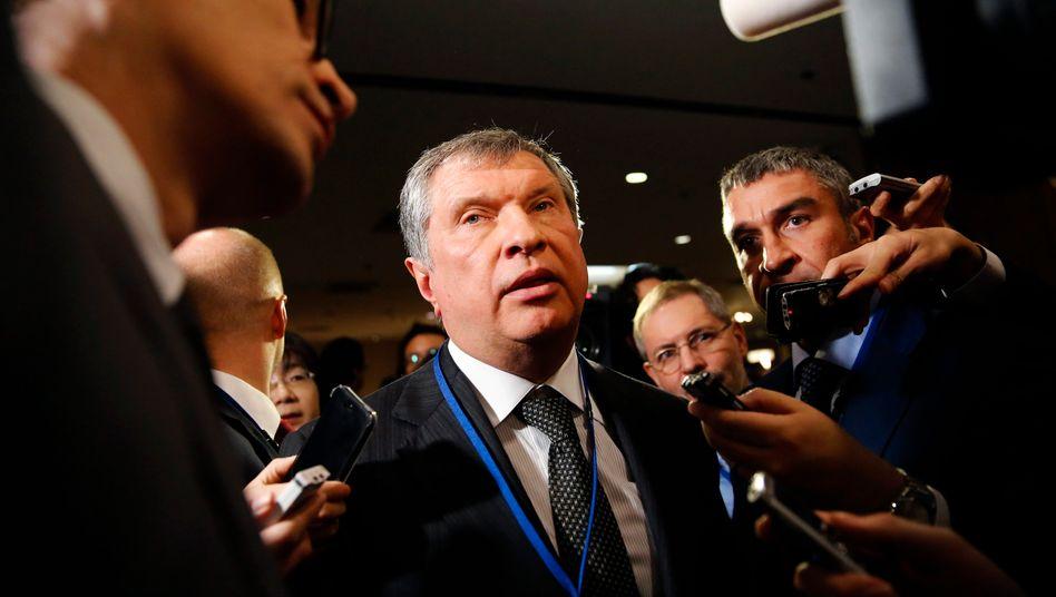 Rosneft-Chef Setschin: Hochverschuldeter Energieriese