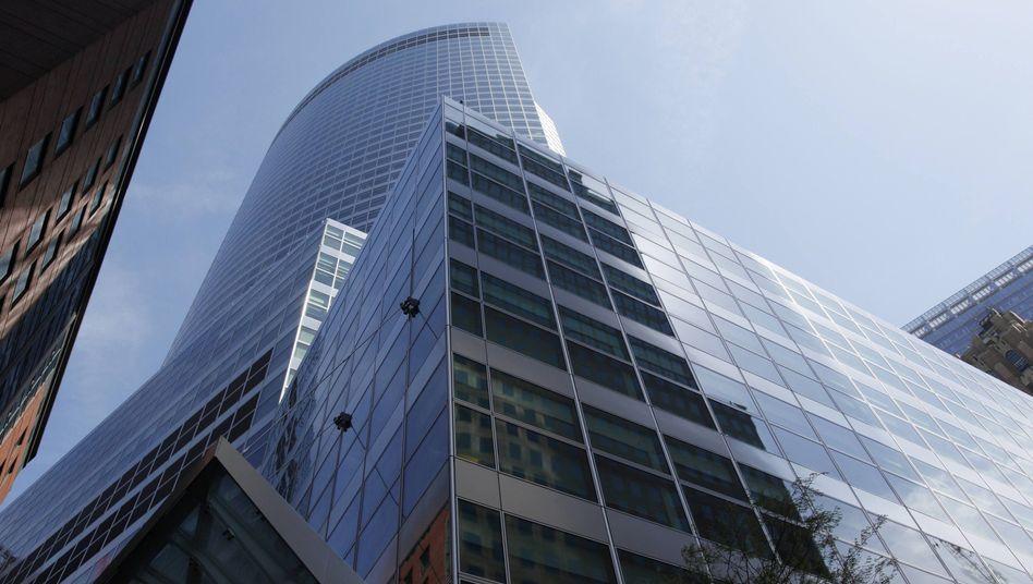 Zentrale in New York: Goldman Sachs streitet sich noch immer über die Hypothekengeschäfte im Zusammenhang mit der Immobilienkrise vor drei Jahren