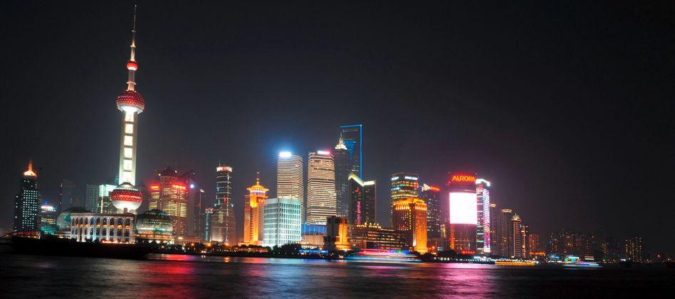 Skyline von Shanghai: