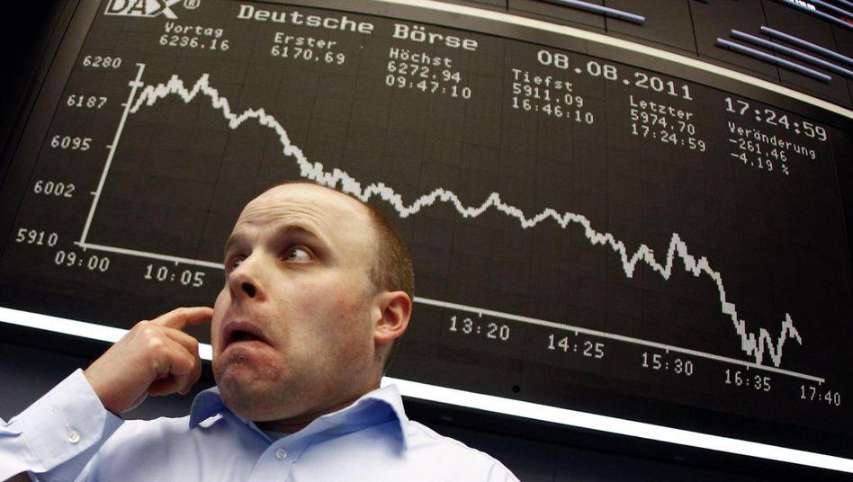 Lieber nicht hinschauen: Die Börsianer hoffen, dass sich die verlustreichen Tage aus dem August im neuen Monat nicht wiederholen