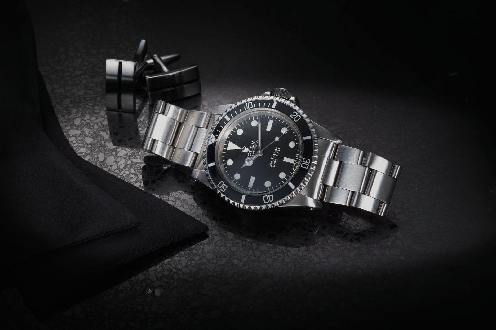 Roger Moore - Rolex 5513 Submariner